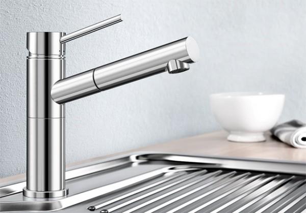 Blanco Küchenarmatur ALTA-S 518448 Compact Mit Schlauchbrause