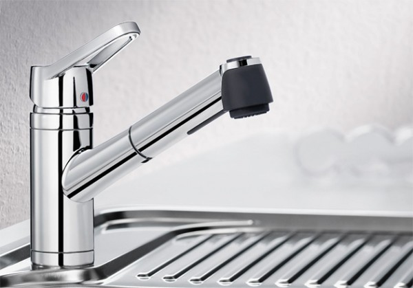 Blanco Küchenarmatur ACTIS-S 512914 Mit Schlauchbrause