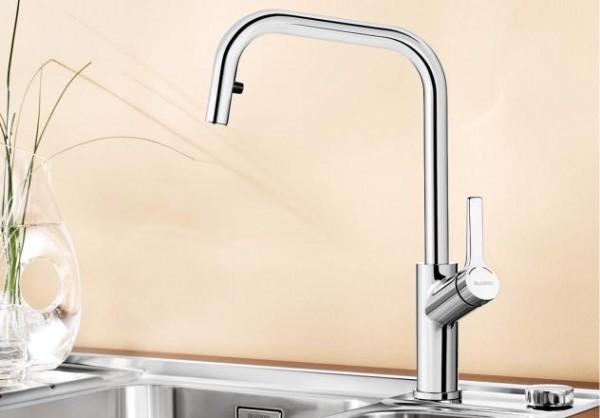Blanco Küchenarmatur JURENA-S 520765 Mit Schlauchbrause