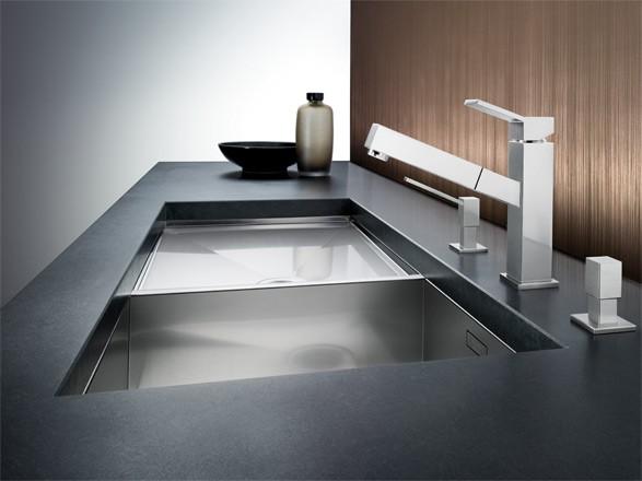 Blanco Küchenarmatur QUADRIS-S 514606 Mit Schlauchbrause