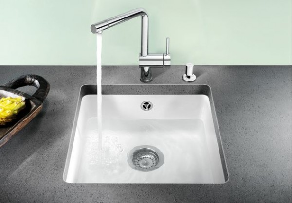Blanco Einbauspüle SUBLINE 375-U 516035 Keramik