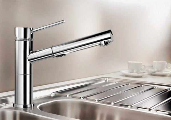 Blanco Küchenarmatur ALTA-S 518407 Compact Vario Mit Schlauchbrause