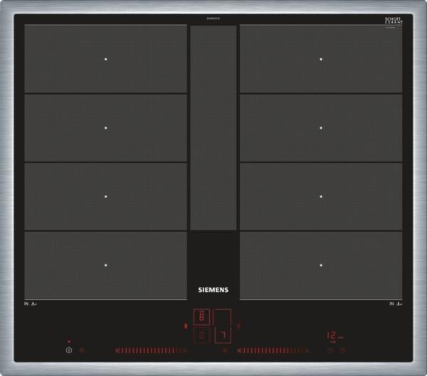 Siemens EX645LYC1E Induktions-Kochstelle Edelstahl 60 cm