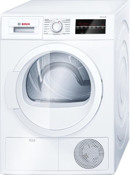 Bosch Luftkondensations-Wäschetrockner WTG86400 weiß