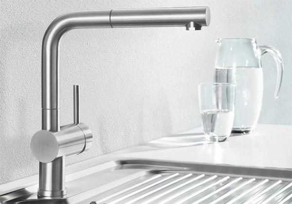 Blanco Küchenarmatur LINUS-S 512402 Mit Schlauchbrause
