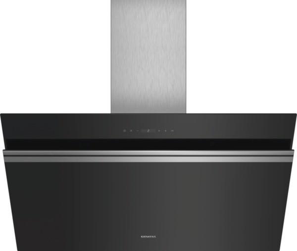 Siemens Wand-Esse LC91KWP60 Schwarz mit Glasschirm