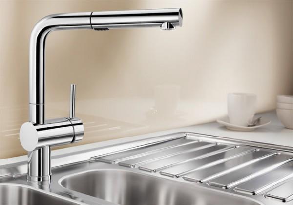 Blanco Küchenarmatur LINUS-S 518406 Vario Mit Schlauchbrause