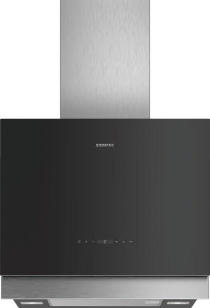 Siemens Wand-Esse LC67FQP60 Schwarz mit Glasschirm