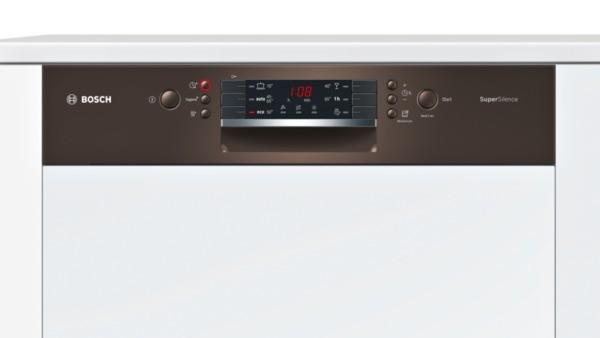 Bosch SMI46MM03E Spüler 60cm integriert braun