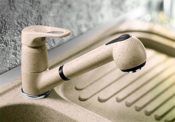 Blanco Küchenarmatur WEGA-S 512047 Mit Schlauchbrause