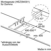 Bosch Domino Kochfeld PKF375FP1E