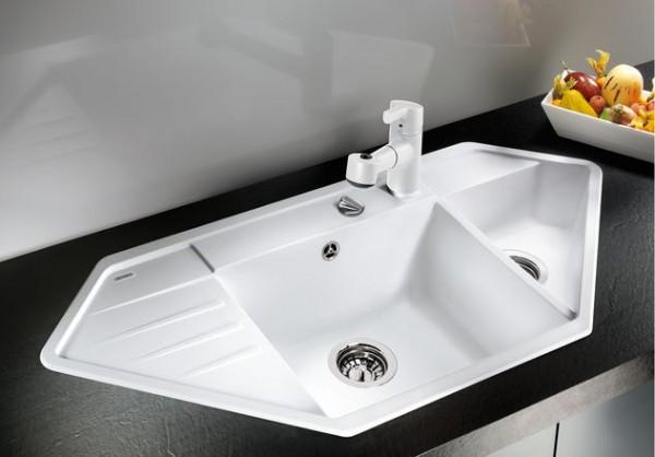 Blanco Einbauspüle LEXA 9 E 515104 Silgranit