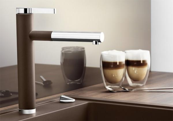 Blanco Küchenarmatur LINEE-S 518438 Mit Schlauchbrause