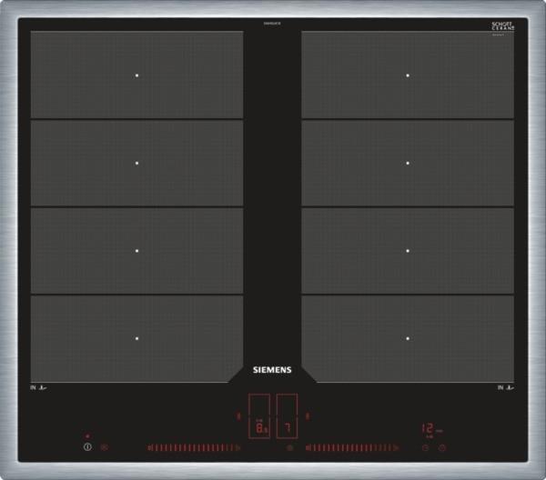 Siemens EX645LXC1E Induktions-Kochstelle Edelstahl 60cm
