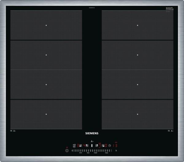 Siemens EX645FXC1E Induktions-Kochstelle Edelstahl 60 cm