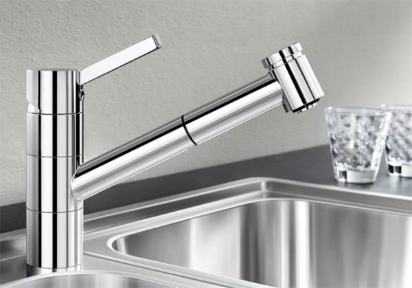 Blanco Küchenarmatur TIVO-S 518424 Mit Schlauchbrause