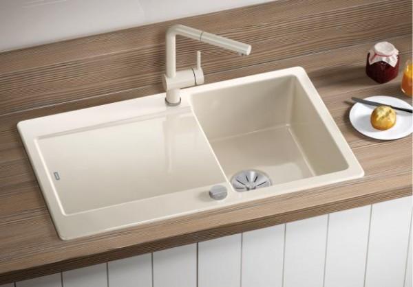 Blanco IDENTO 45 S 522117 Keramikspüle weiß matt