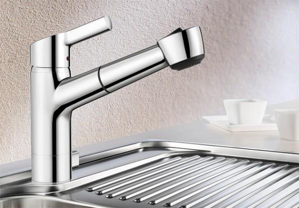 Blanco Küchenarmatur ELIPSO-S-A II 514915 Mit Schlauchbrause