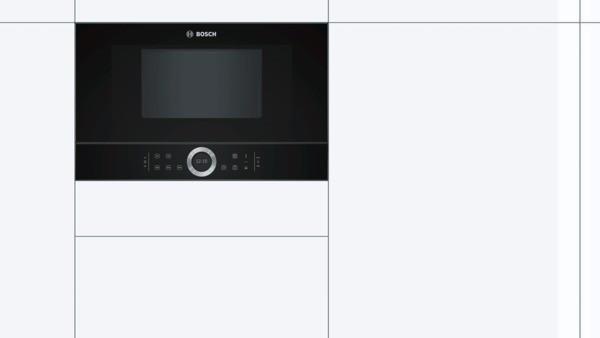 Bosch Einbau-Mikrowelle BFL634GB1 --Lager--