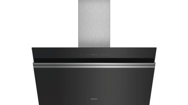 Siemens LC91KWV60 Wand-Esse Schwarz mit Glasschirm 90 cm