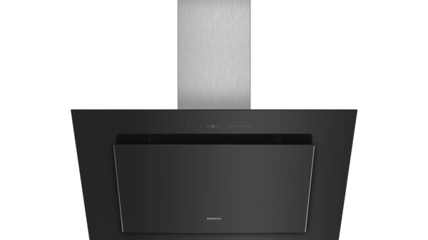 Siemens LC98KLV60 Wand-Esse Schwarz mit Glasschirm 90 cm