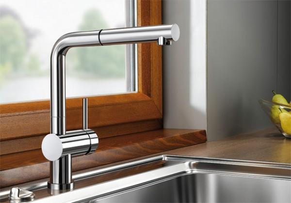Blanco Küchenarmatur LINUS-S-F 514276 Mit Schlauchbrause