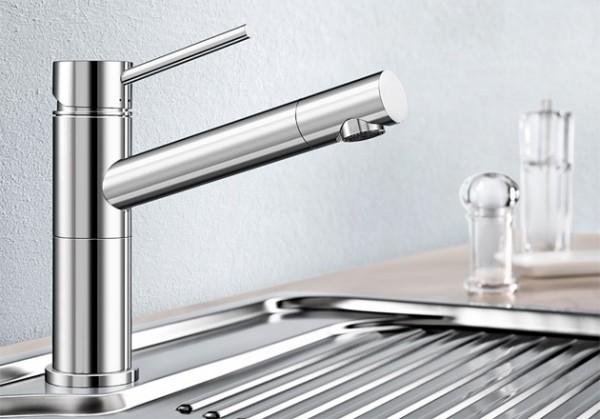 Blanco Küchenarmatur ALTA Compact 518447 Ohne Schlauchbrause
