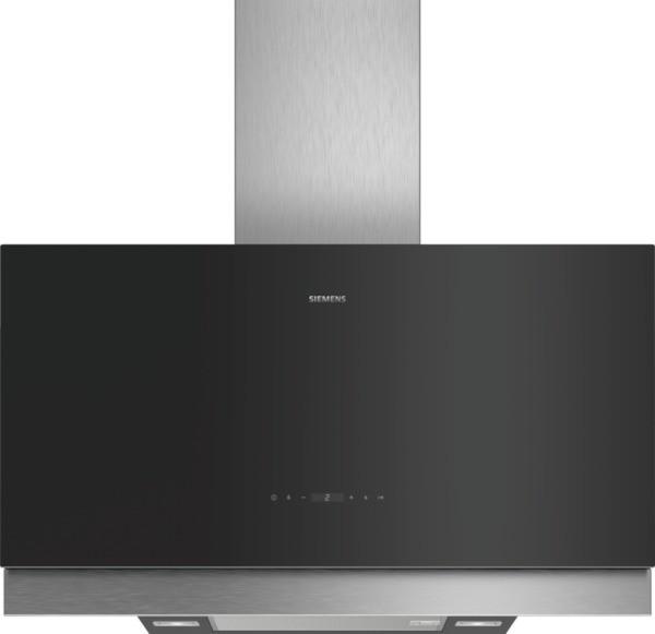 Siemens Wand-Esse LC97FQP60 Schwarz mit Glasschirm