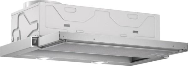 Bosch Flachschirmhaube DFL064W50 grau-metallic 60 cm