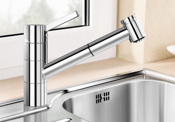 Blanco Küchenarmatur TIVO-S-F 518410 Mit Schlauchbrause