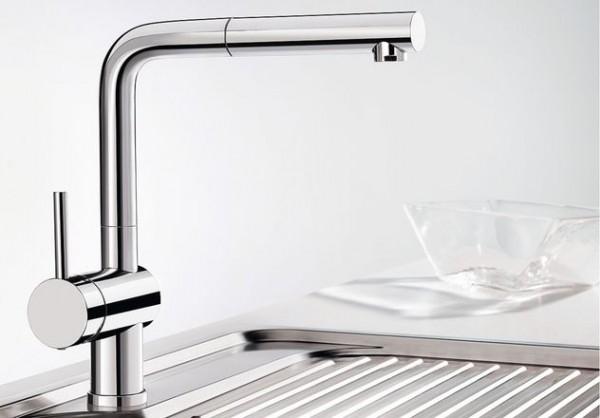 Blanco Küchenarmatur LINUS-S 514016 Hebel links Mit Schlauchbrause