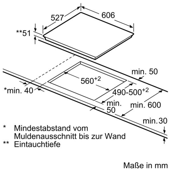 Bosch Induktions-Kochfeld NXX675CB1E 60 cm